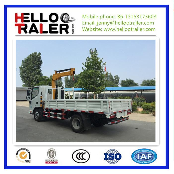 5ton Mini Dump Truck with 3ton Crane
