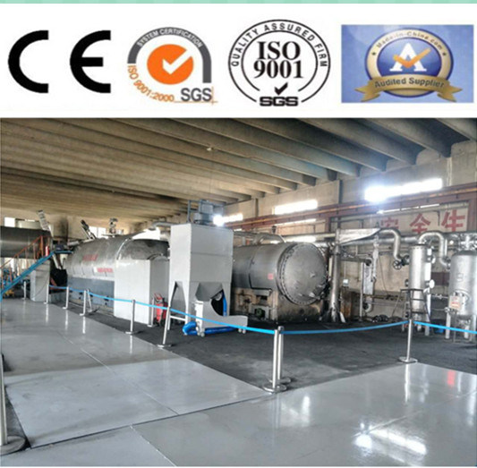 New Type Waste Tyre Distillation Equipment for Carbon Black