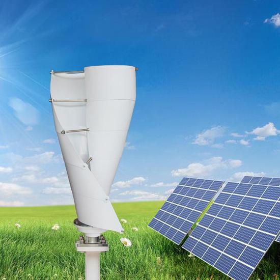 Garden Windmill Domestic Vertical Axis Wind Generator 400W Wind Turbine