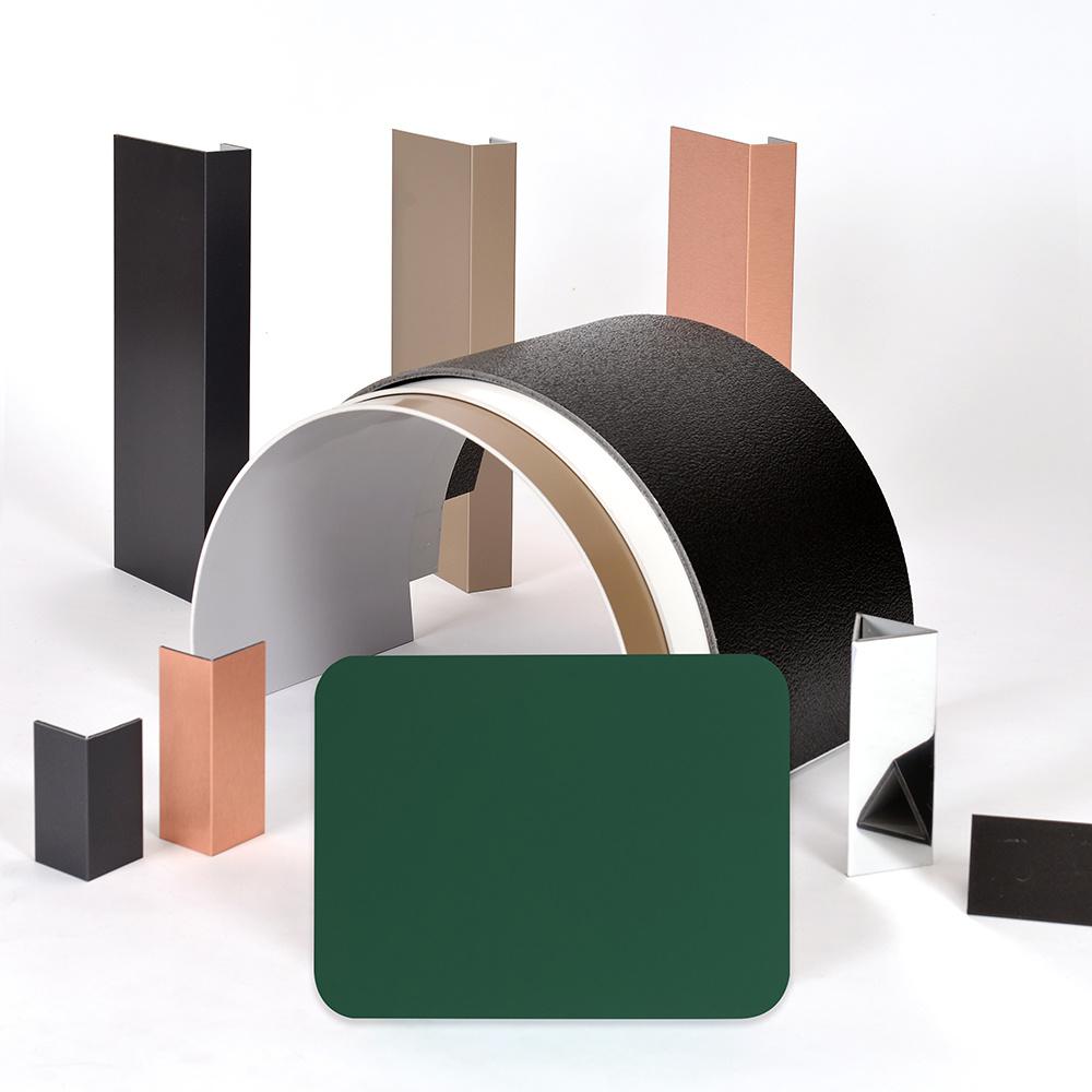 Aluis Interior 5mm Aluminium Composite Panel-0.18mm Aluminium Skin Thickness of Polyester Green