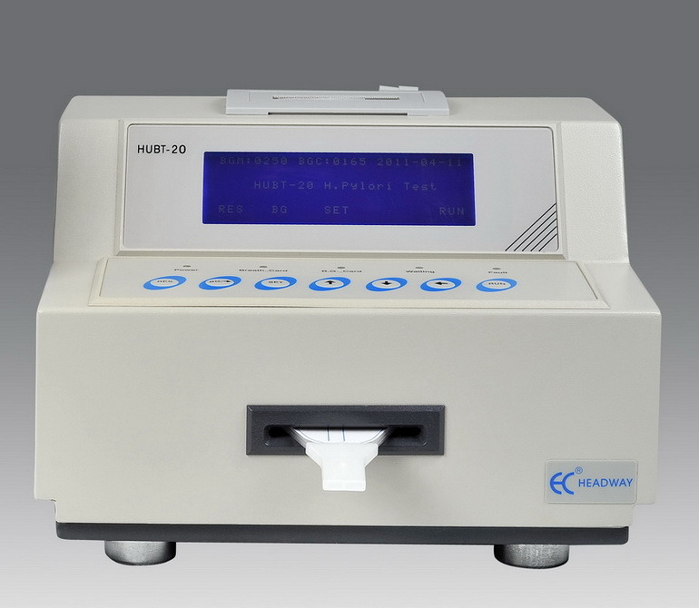 C14 H. Pylori Urea Breath Test Analyzer Hubt-20