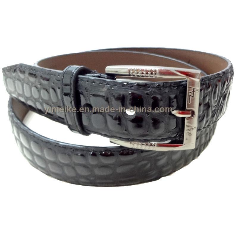 2016 New Design High Quality Leather Men′s Waist Belt