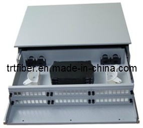 19′′ 1u Fiber Optic Patch Panel Box