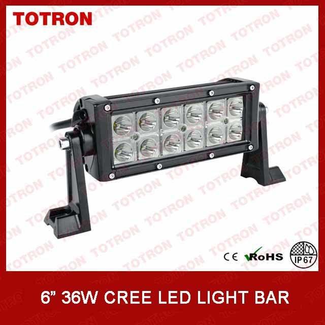 Totron 36W 6 Inch Super 4X4 off Road Light (TLB3036)