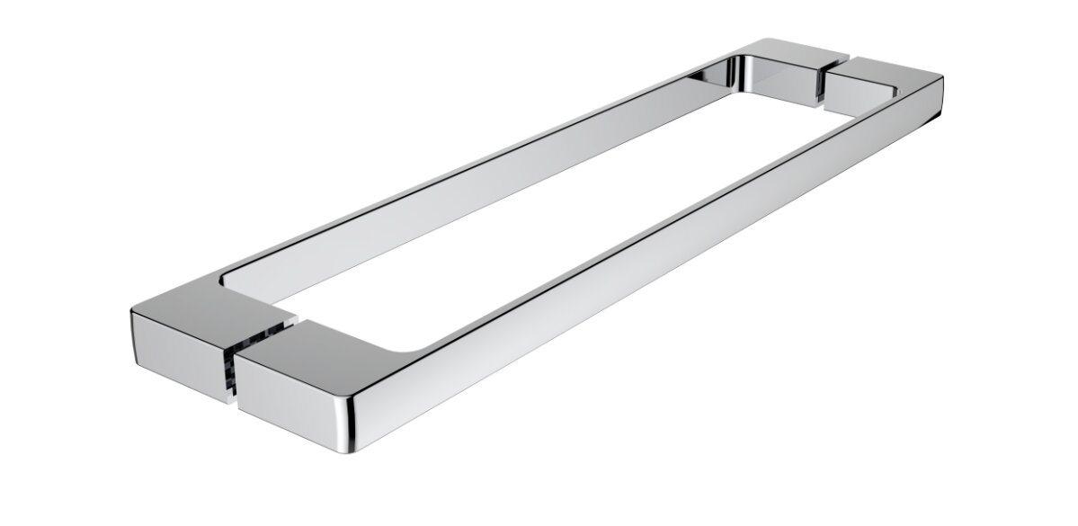 Square Solid Brass Bathroom Grab Bar