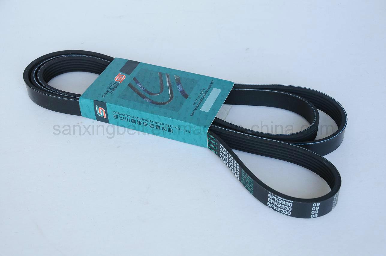 Industrial Rubber Poly V Belt