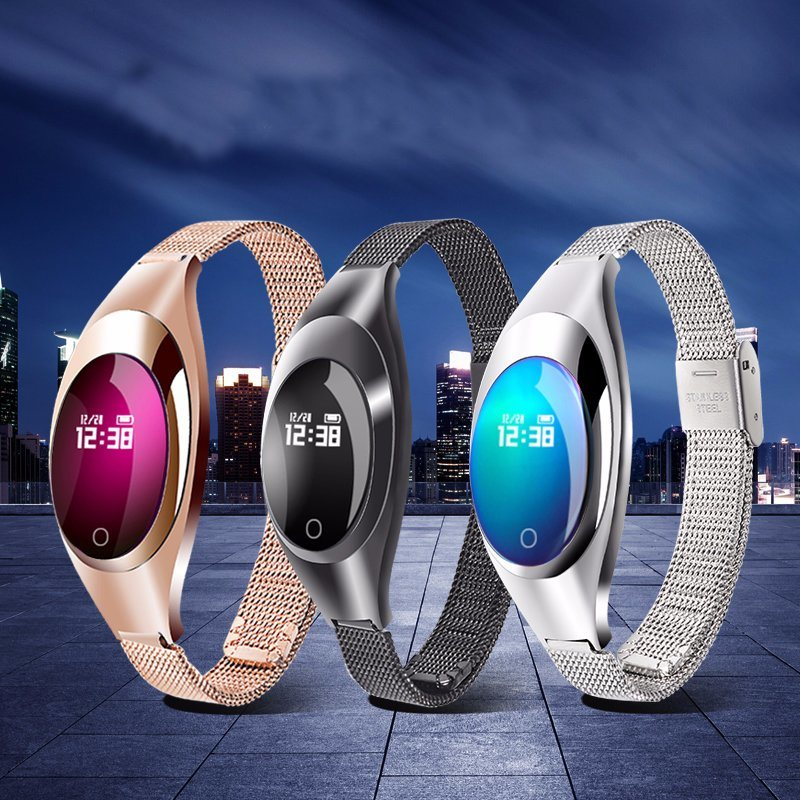 Newly Elegant Smart Bluetooth Bracelet with Heart Rate Monitor (Z18)