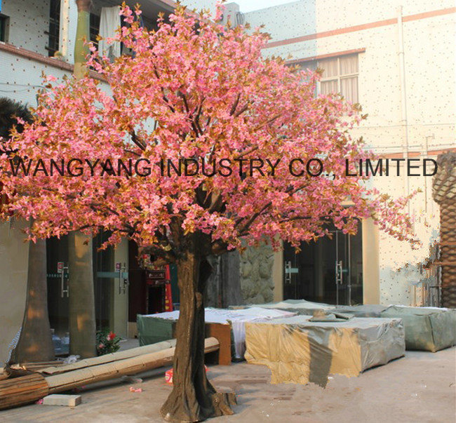 Good Quality Pink Fake Artificial Cherry Sakura Tree
