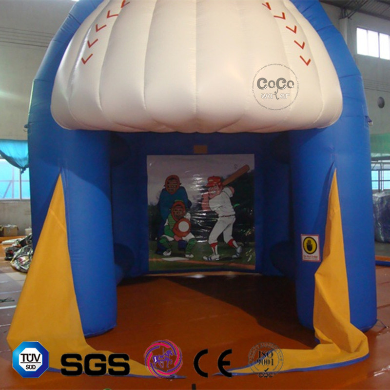Coco Water Design Inflatable Baseball Theme Tent LG9062