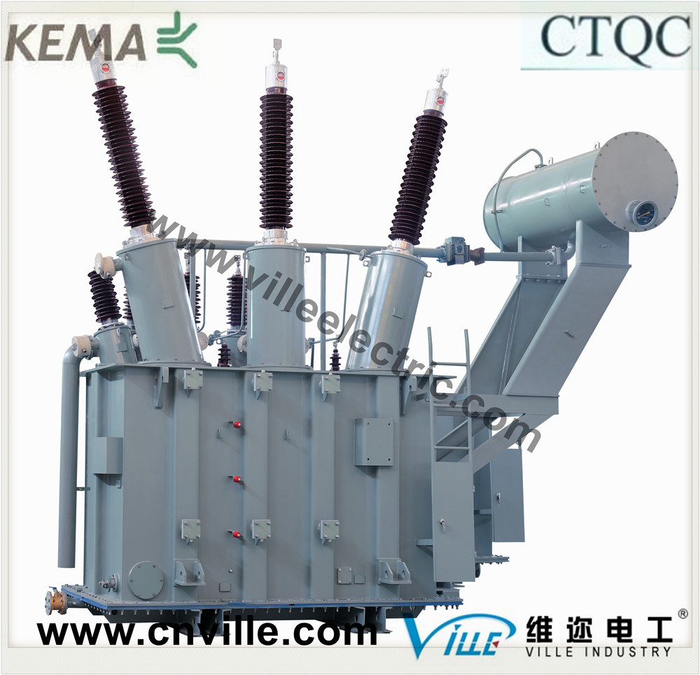50mva 66kv Double-Winding Power Transformers with off-Circuit Tap Changer
