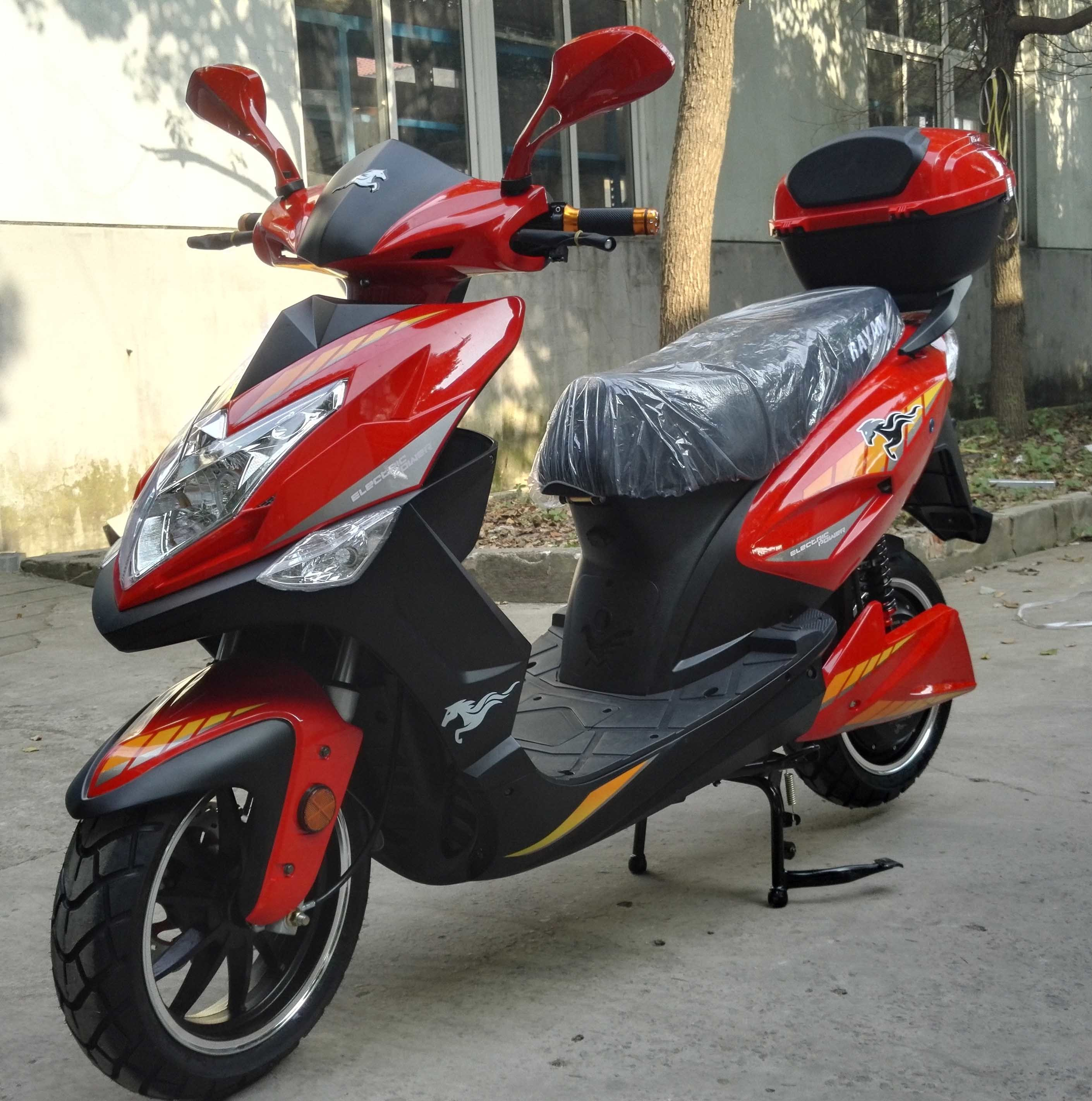 2017 Colombia and Mexico Fashion Hot Sales 72V1500W/200W/2500W Electric Motorcycl to South America