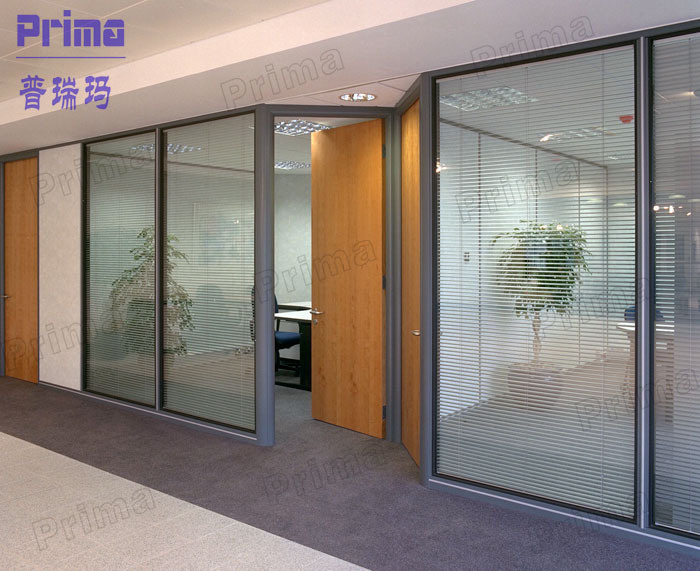 Hot Sale Aluminium Frame Building Material Wall Office Partition