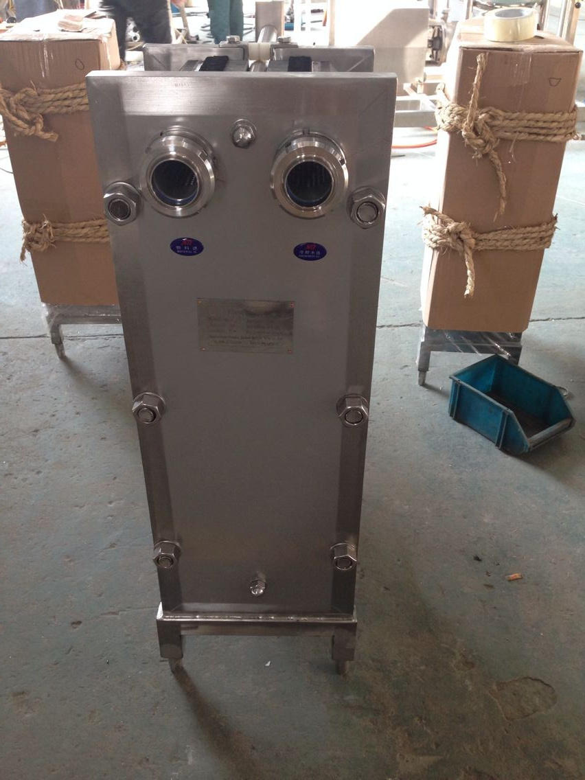 Stainless Steel Plate Heat Exchanger for Sterilization & Cooling