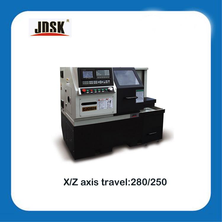 Jdsk CNC Lathe Cj0626 Tornos CNC From China