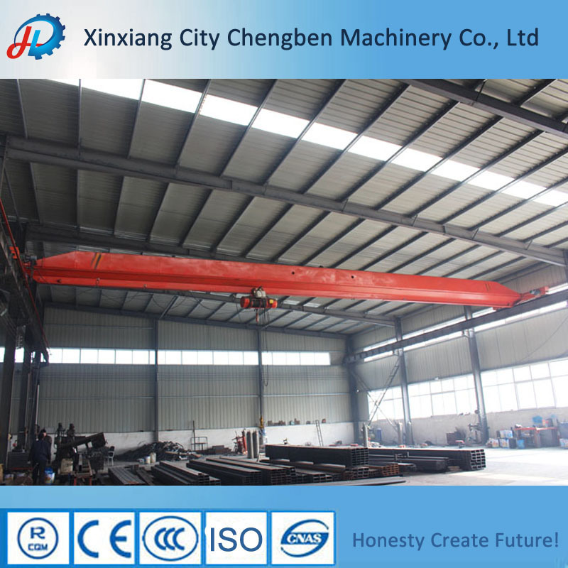 China Reliable Small Size Single Girder Workshop Traveling Mobile Electric Hoist Overhead Crane