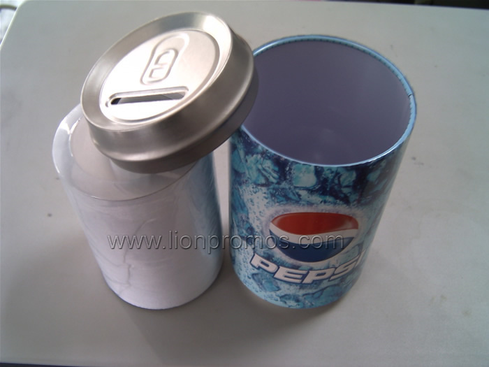 Beverage, Beer Promotional Gift Tin Shape Cotton Round Neck Compressed T Shirt