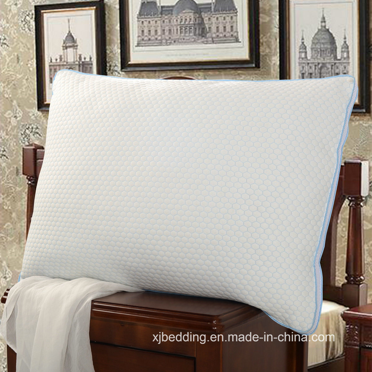 New Item Cool Feeling Polyester Pillow for Bed