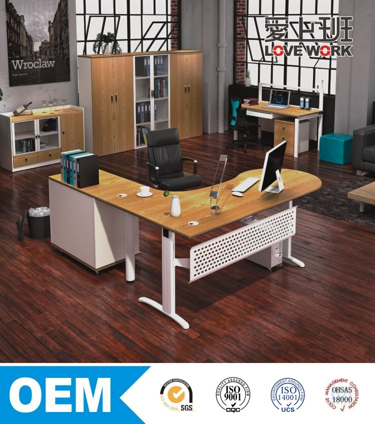 2016 Commercial Office Furniture Manager Desk Executive Table