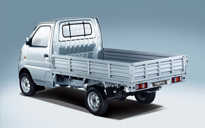 China Electric Truck Van for City Interal Transportation, Top Quality in China