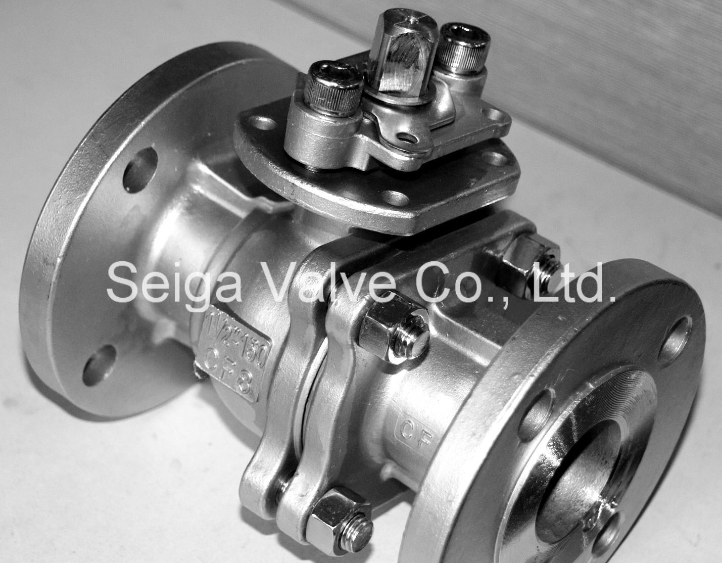 Stainless Steel Precision Casting Lock Float Ball Valve