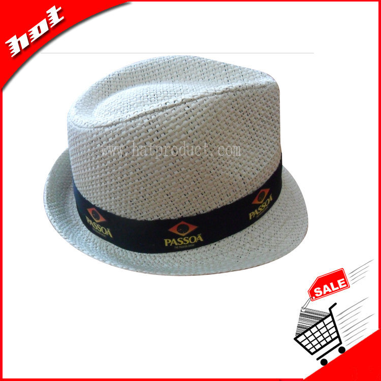 Fedora Hat Paper Hat Straw Hat Woven Paper Hat