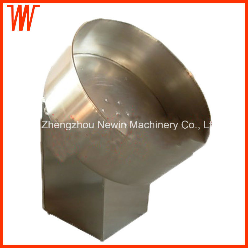 Stainless Steel Drum Food Snack Flavor Seasoning Machine