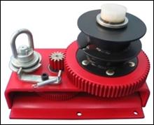 Ceiling Ratchet Double Reller Winch (H-3000S)