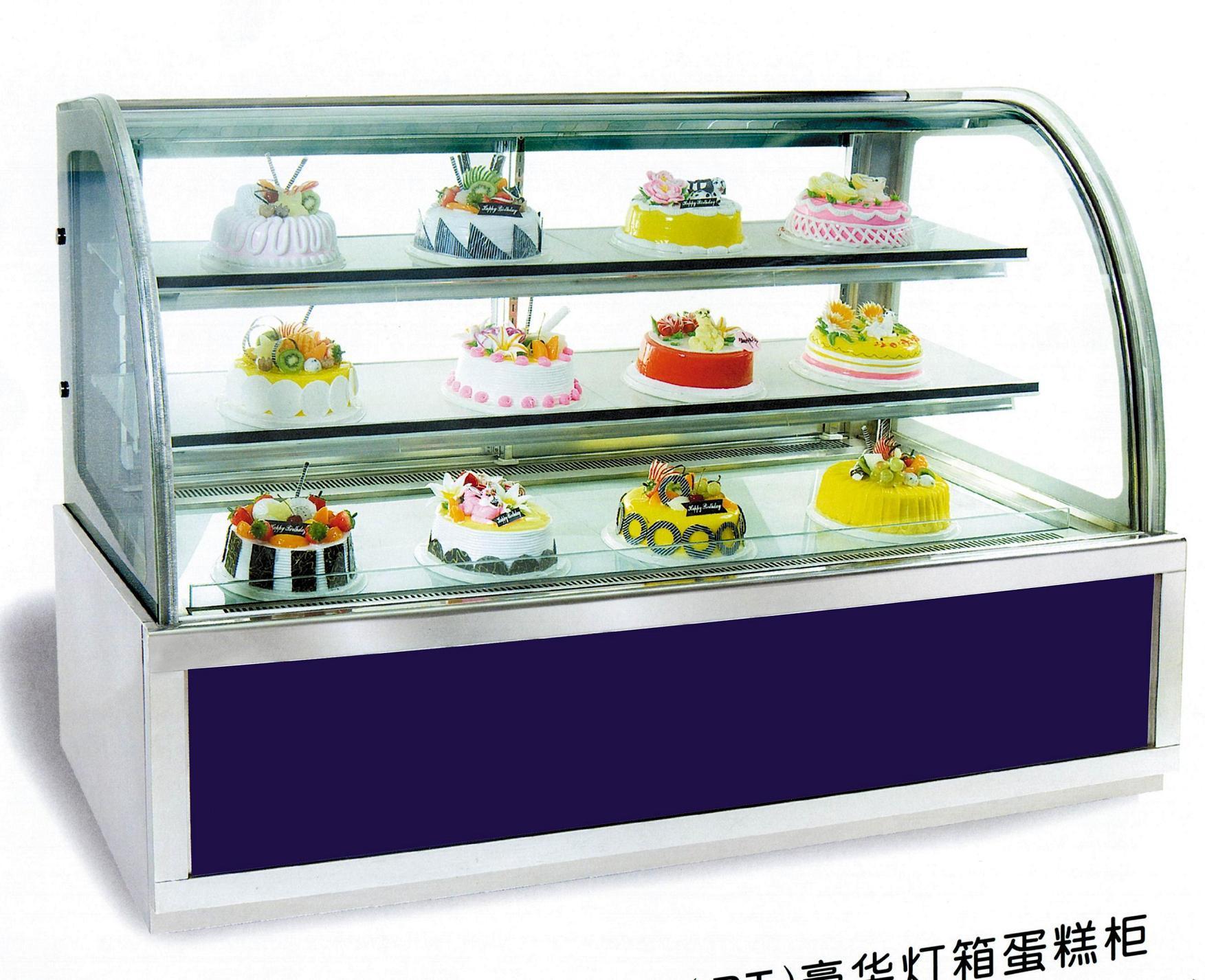 China Luxury Light Box Cake Display Cabinet Rt 1200 1500