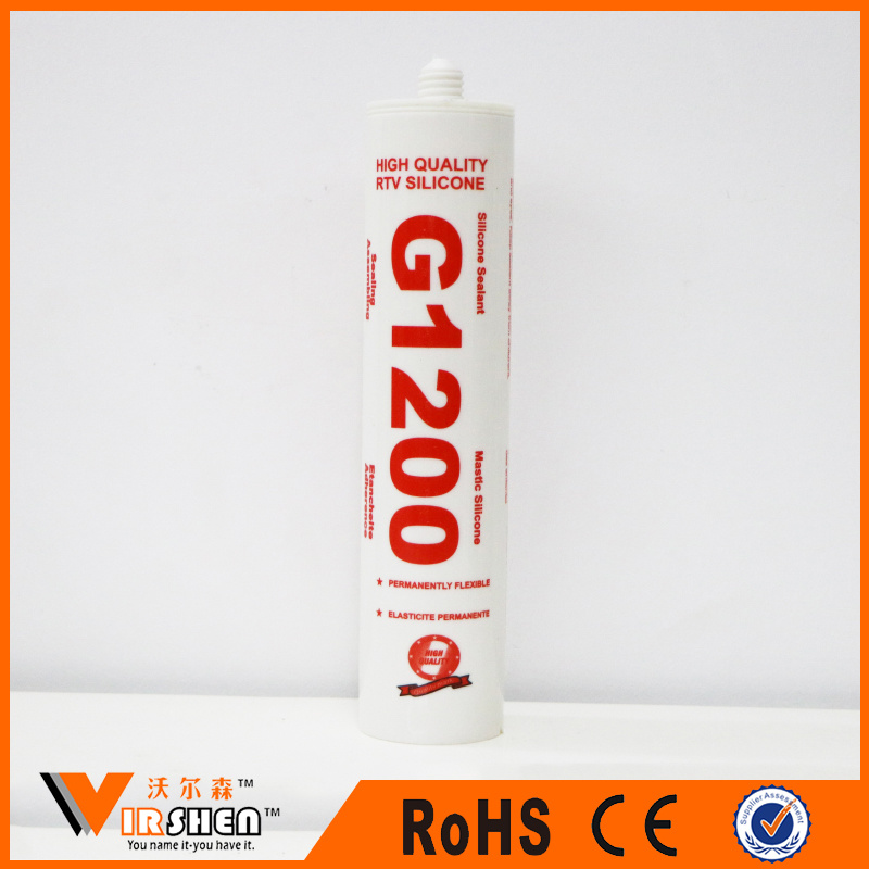 G1200 Rapid Cure RTV Acetic Multipurpose Silicone Sealant Cheapest Price