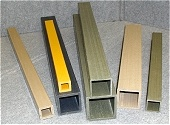 FRP Tubes, GRP Profiles, Pultruded Shapes, Pultrusion Profiles, GRP Square Tubes