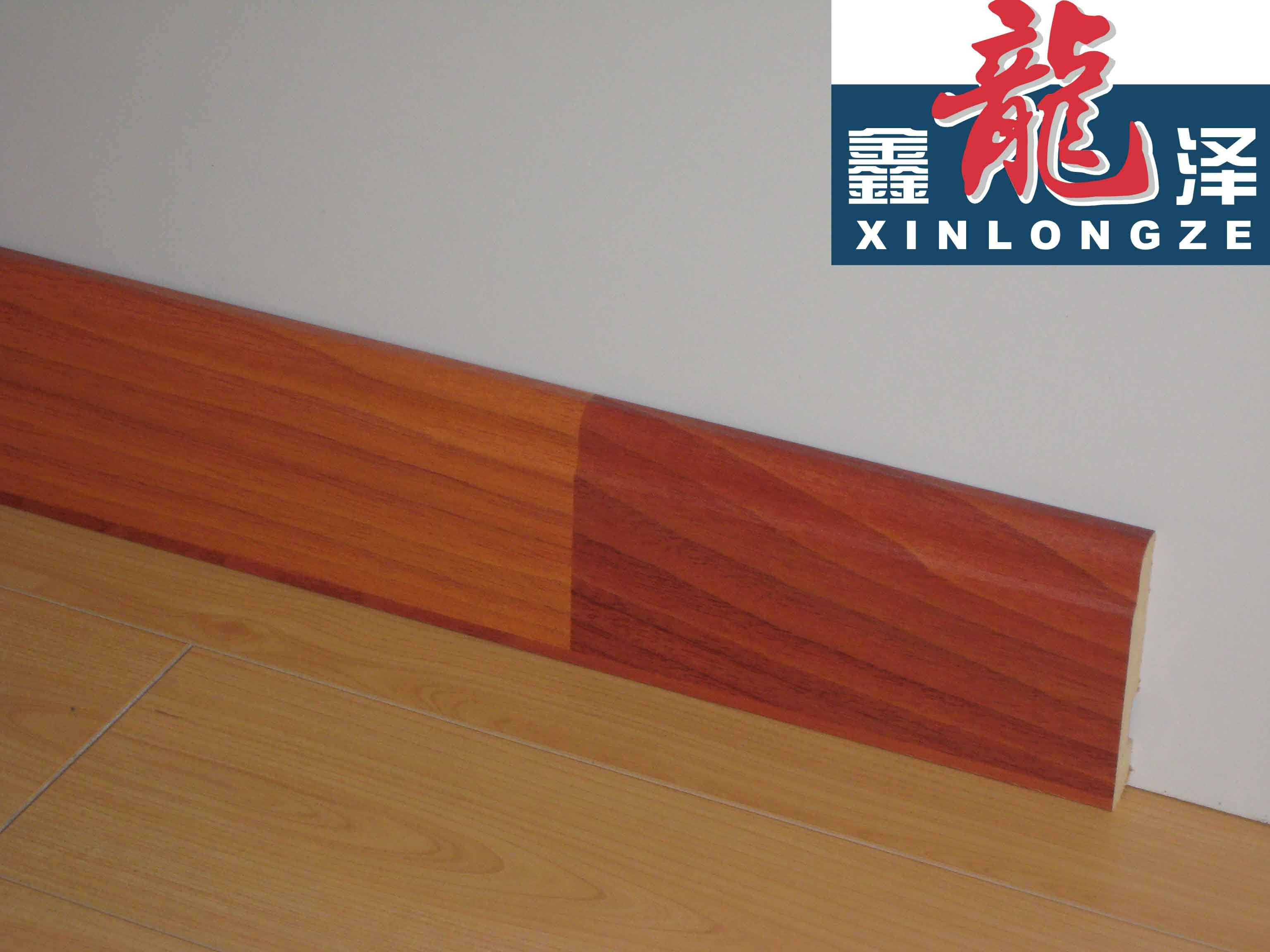 China mdf skirting floor board used