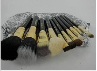Brush Sets on Make Up Brush 10pcs Per Set Brand With Leather Pouch   China Make Up