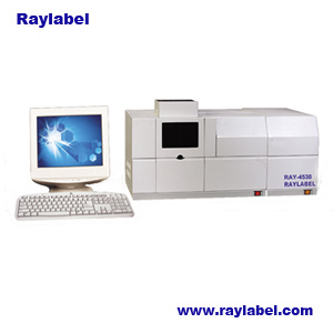 Aas Flame Spectrophotometer Atomic Absorption Spectrophotometer (RAY-4530F)
