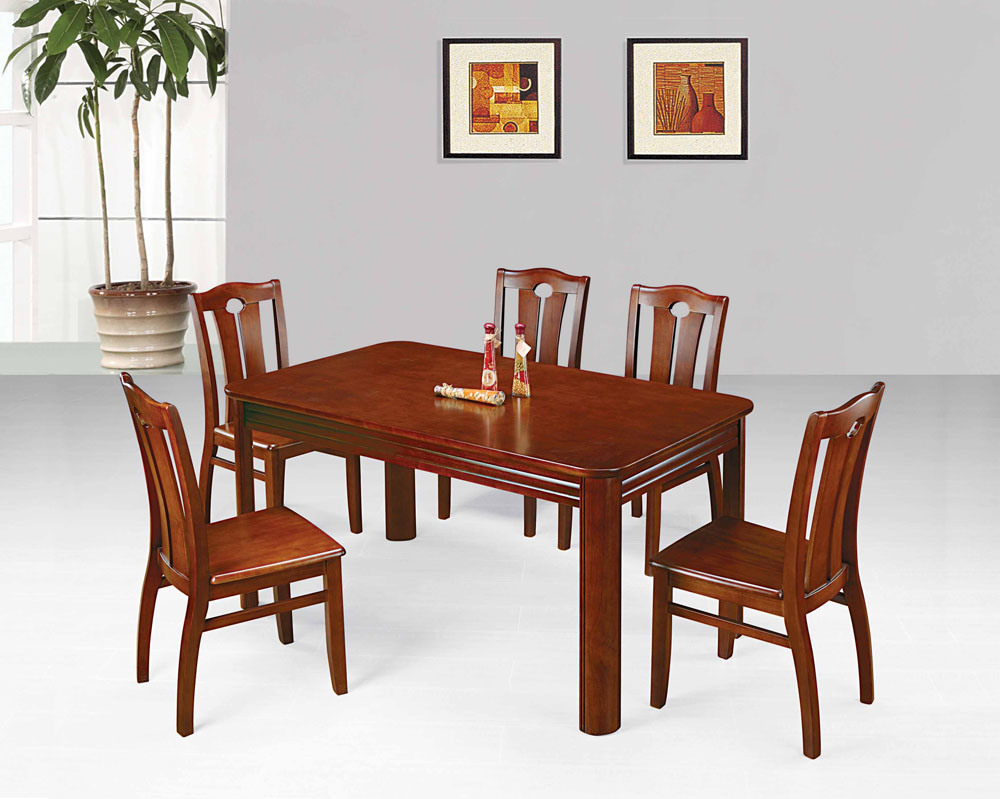 China Wood Dining Furnitures (GT07+GC07)