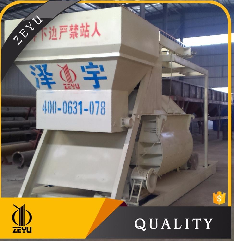 Double Shaft Compulsory Concrete Mixer Js1500 Manufacturer