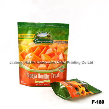 Stand-up Fresh Fruit Packaging Bag with Zipper