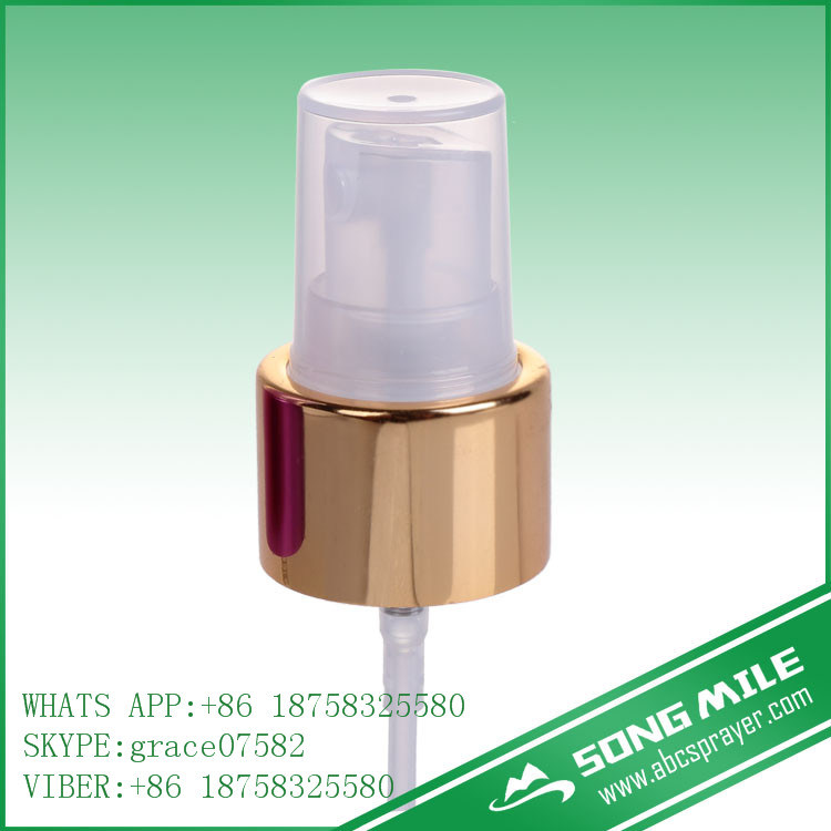 24/410 Shiny Gold Fine Mist Sprayer for Body Care