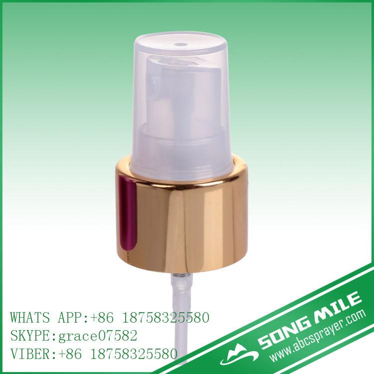 24/410 Shiny Gold Fine Mist Sprayer for Body Mist