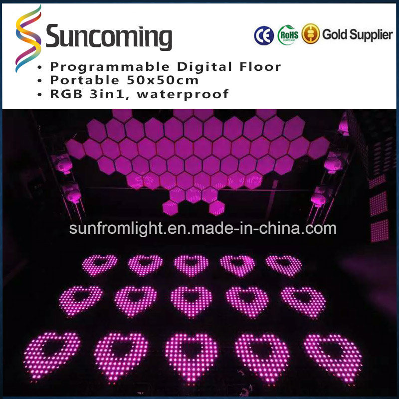High Brightness P62.5 DIY LED Dance Floor