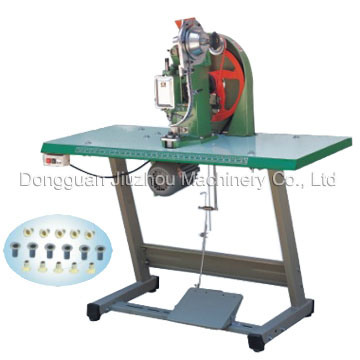 China Semi Automatic Riveting Machine Mini Type Jz 918ms China Semi Automatic Riveting