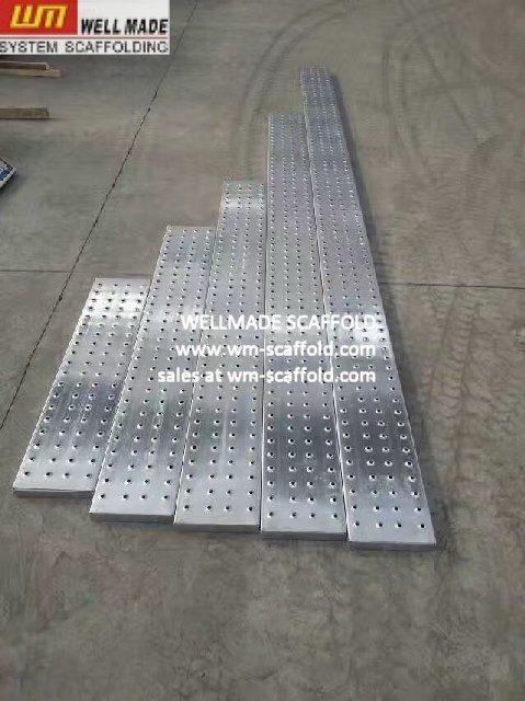 Galvanized Scaffolding Planks Metal Scaffold Walking Boards