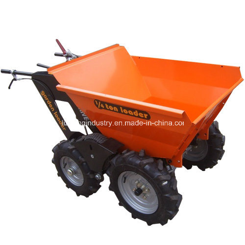 China Wholesale 1/4ton 5.5HP Power Barrow, Power Wheel Barrow, Motorized Wheel Barrow (BY250)