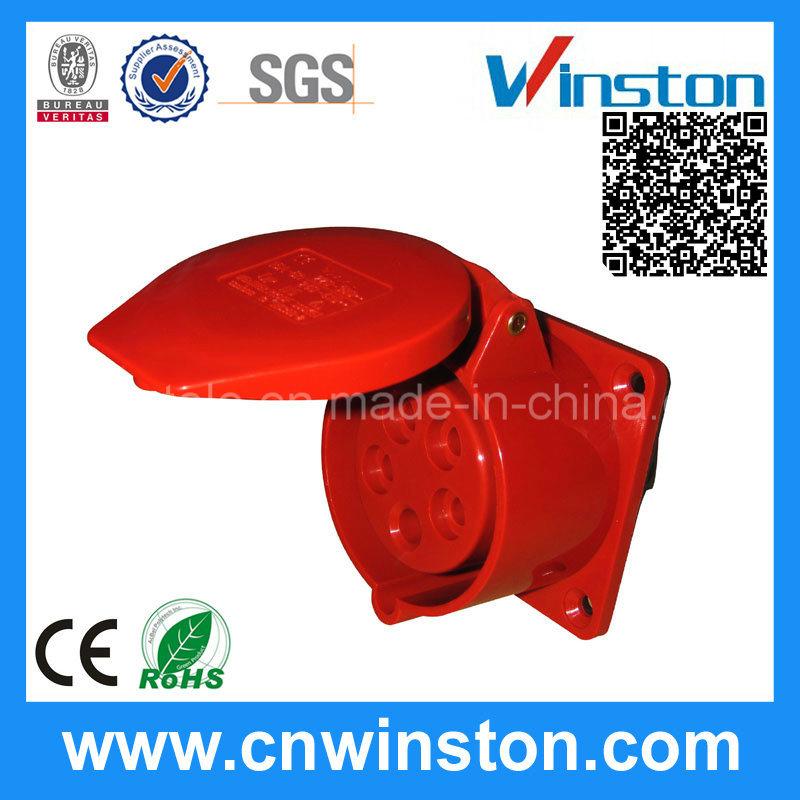 315/325 Cee IEC Standard Grounding Plug Socket with CE
