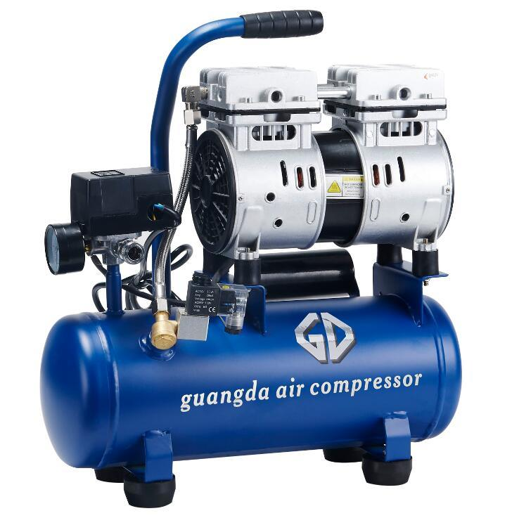9L 480W Oil Free Air Compressor (GDG09)