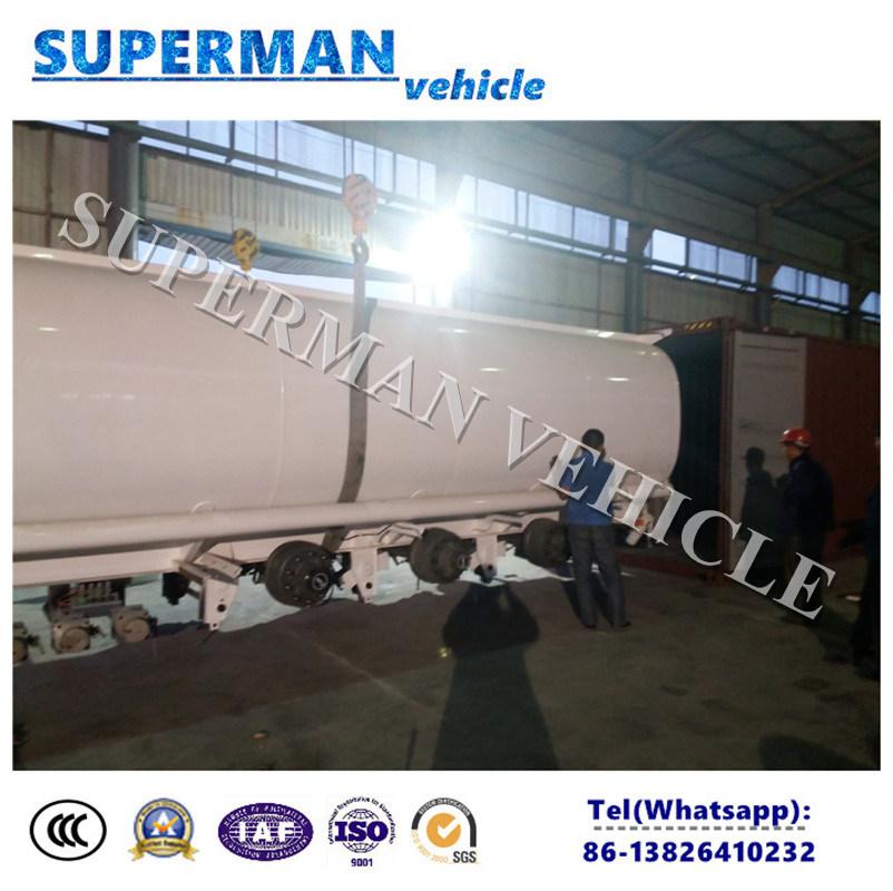 35cbm/ 45cbm/ 55cbm/ 60cbm 3 Axle Fuel/Oil Tanker Semi Trailer