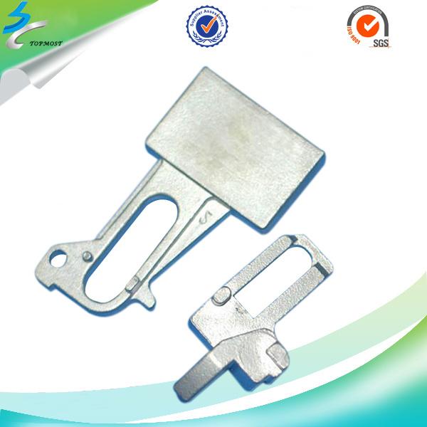 Investment Casting Stainless Steel Lever Door Handle in Door Hardware