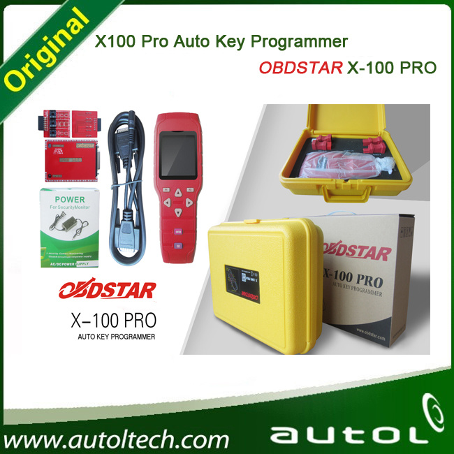 Original Quality X100 PRO Auto Key Programmer Odometer Function +Epprom Adapter