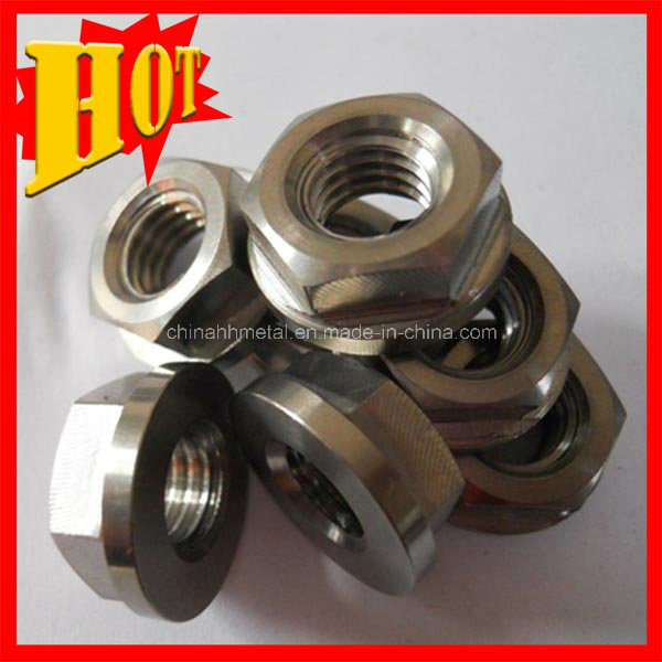 Gr 5 Titanium Nut Fasteners in Stock with Large Quantity