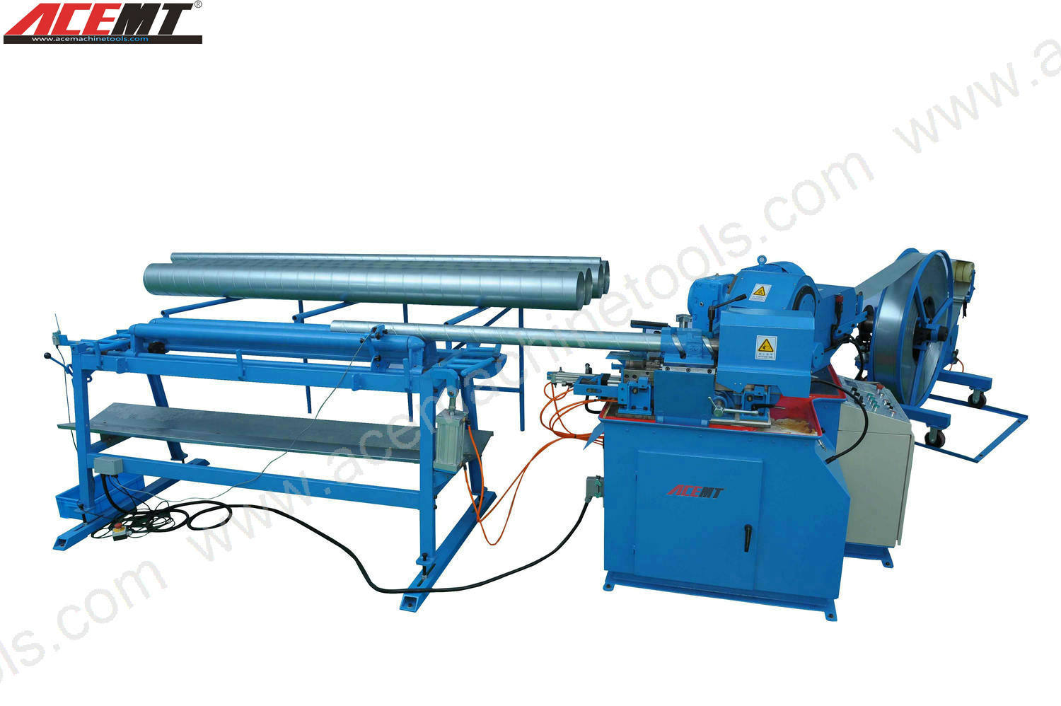 Spiral Tube Forming Machine (ACE-1.2-1500-A)