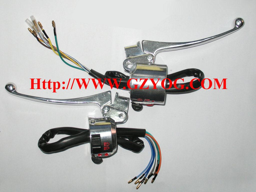 Yog Motorcycle Spare Parts Handle Switch Assy Bajaj Boxer CT 100 Indian Tvs Models Cg125 Cgl125 Ybr125 YAMAHA Fz16 Suzuki Gn125